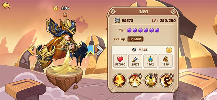 Aida - Idle Heroes Guide