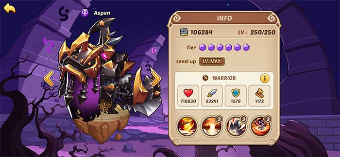 Aspen - Idle Heroes Guide