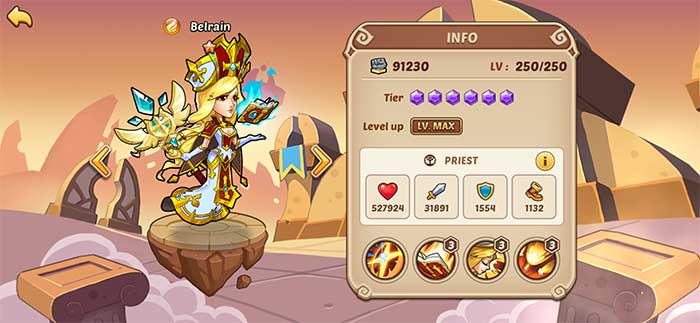 Belrain - Idle Heroes Guide