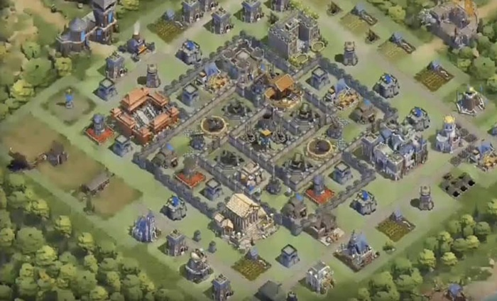 Best Dominations Base design