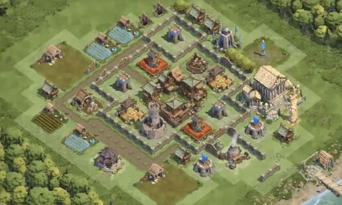 Dominations Base Layouts