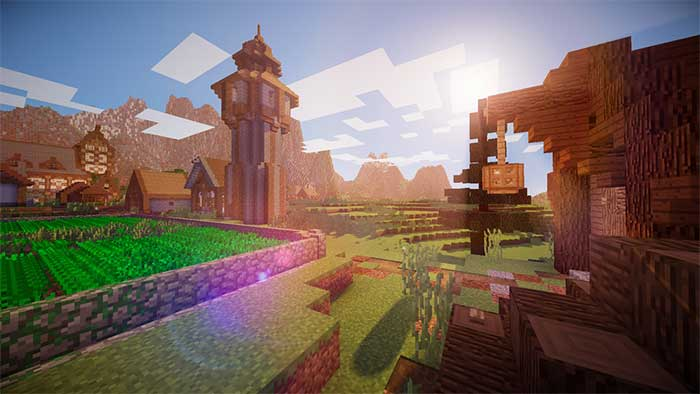 Lagless Shader - Shaders Minecraft