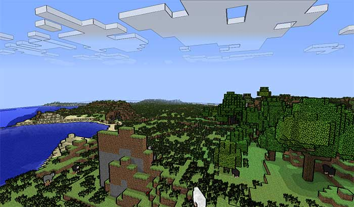 Naelego's Cel Shaders for minecraft