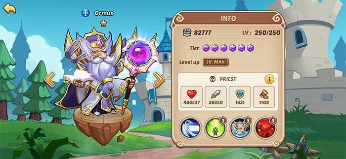 Ormus - Idle Heroes Guide