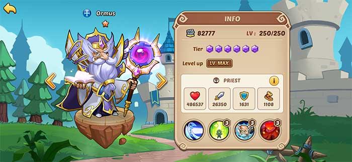 Ormus - Idle Heroes Guide