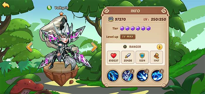 Valkyrie - Idle Heroes Guide