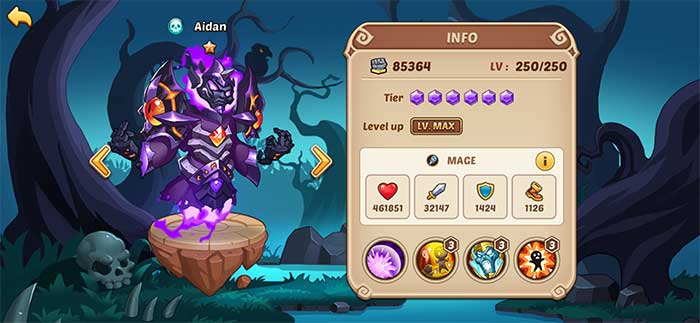 Aidan - Idle Heroes Guide