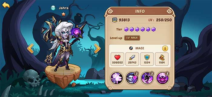 Jahra - Idle Heroes Guide