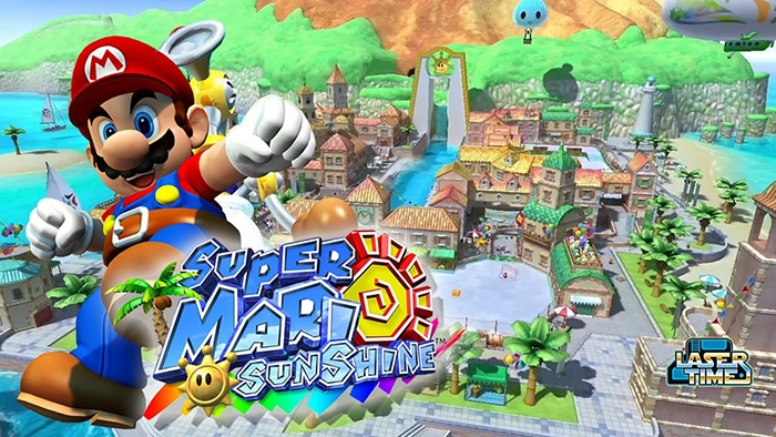 Super Mario Sunshine - List of gamecube games