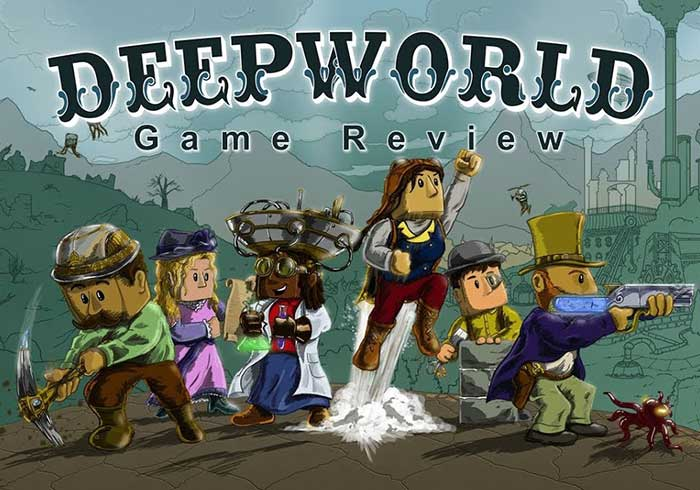 DeepWorld - Alternative Games like Terraria