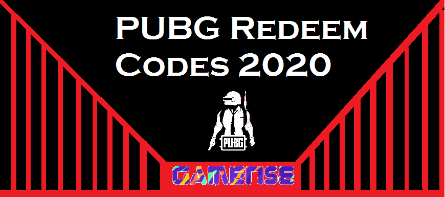 PUBG Redeem Codes 2020