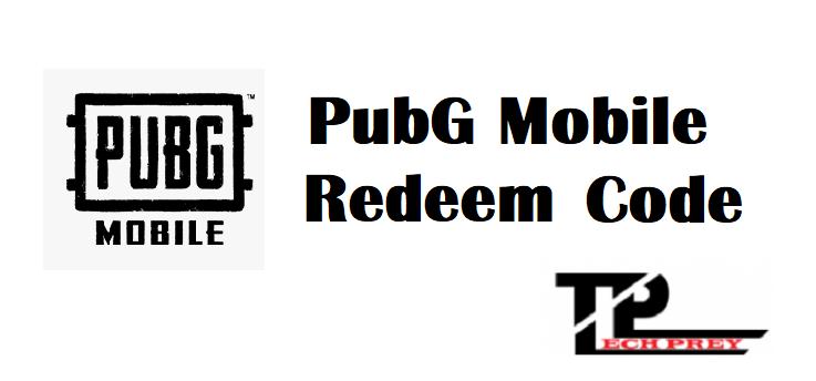 Pubg Mobile Redeem Code