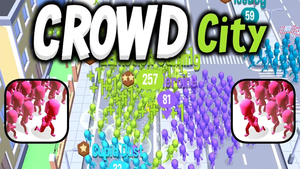 crowd city - Best .io Games for 2020