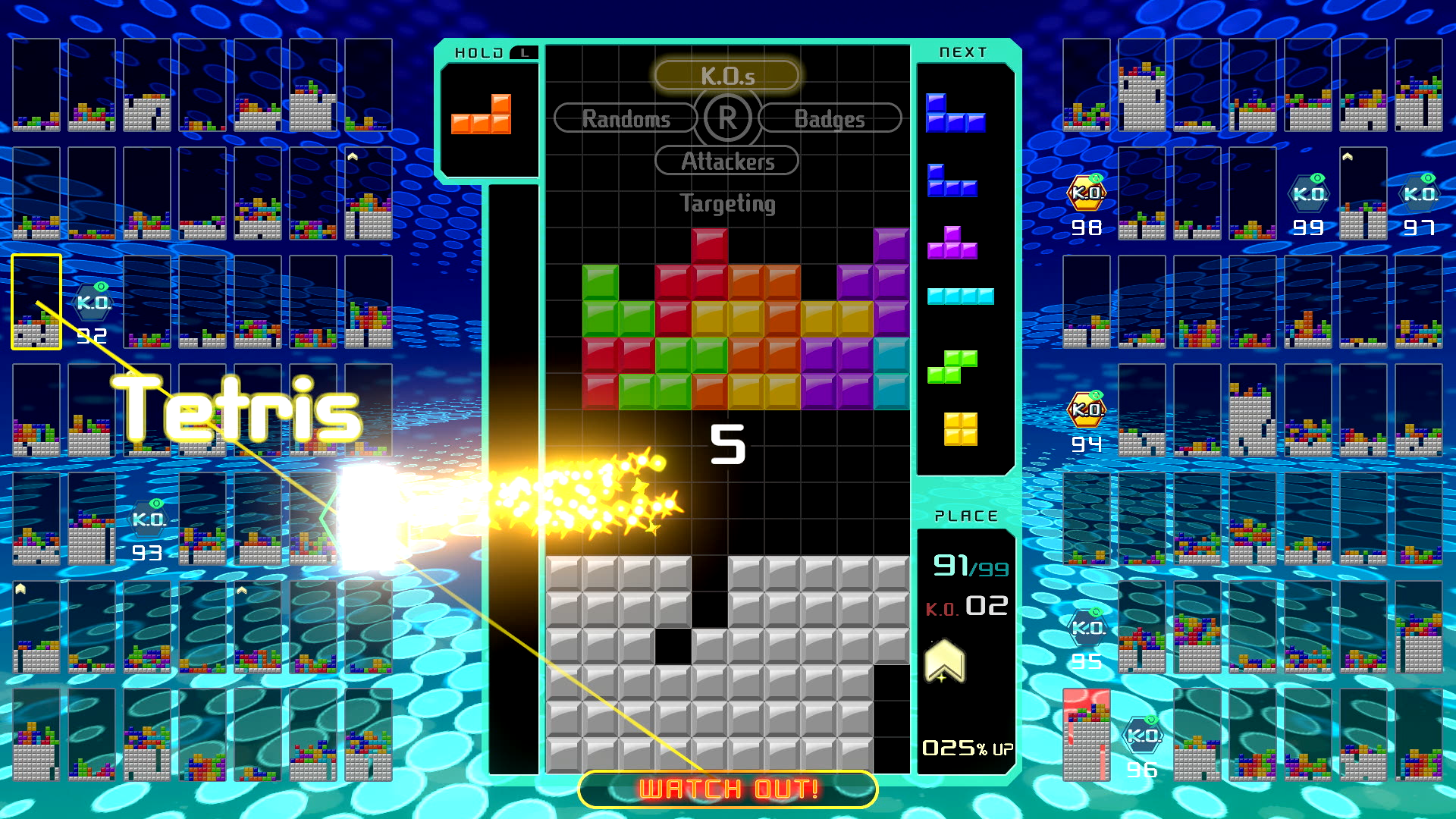 tetris 99 - top Nintendo Switch Games