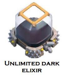 coc unlimited dark elixir