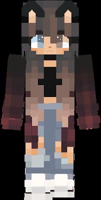 Minecraft skins girl cute